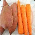 cà rốt khoai lang